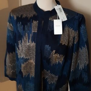 """Chico's Women""""s Embroided Labelle Jacket"""